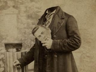 Hauslausir grínistar á Viktoríutímanum