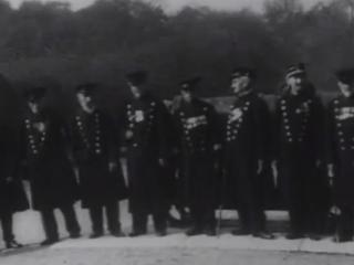 Öldungar Krímstríðsins festir á filmu 1911