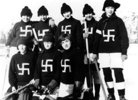 Swastikas.