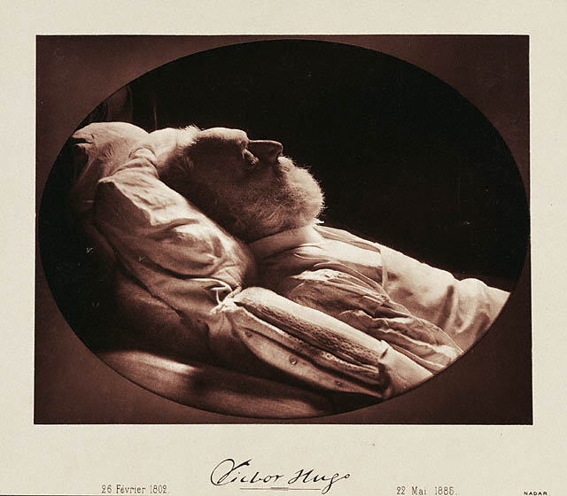 Victor Hugo á dánarbeðinum