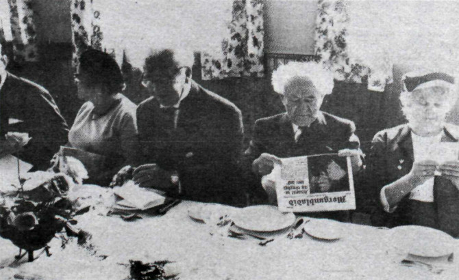 Íslensk stjórnarandstaða verri en Arabar: Brandarakarlarnir Ólafur Thors og David Ben-Gurion