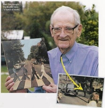 Maðurinn sem sést á umslagi Abbey Road þoldi ekki Bítlana