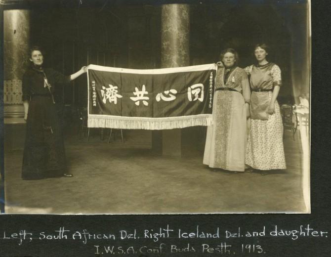 Bríet í Búdapest, árið 1913