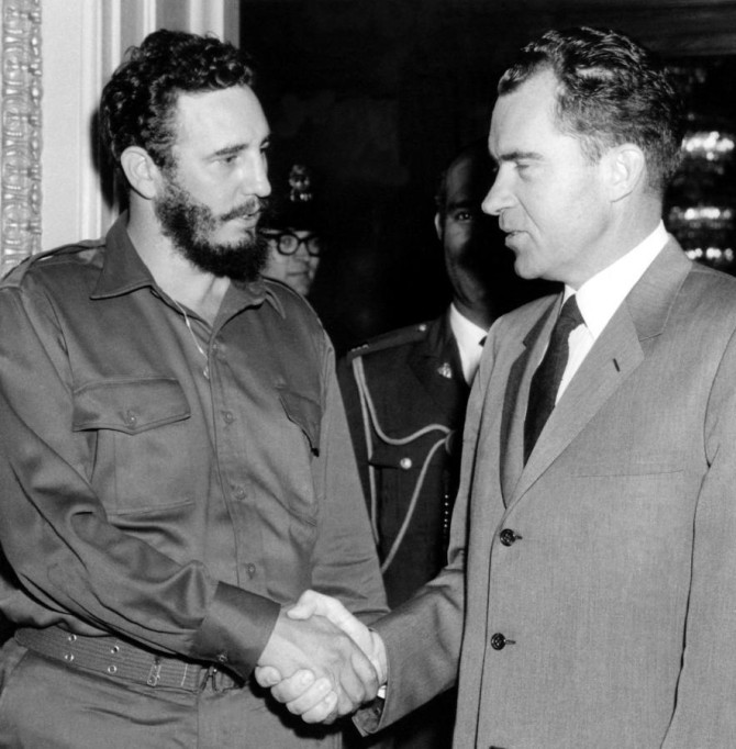 Nixon og Kastró, 1959