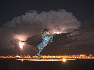 Dauði og eyðilegging á frímúraraflugvelli í Denver