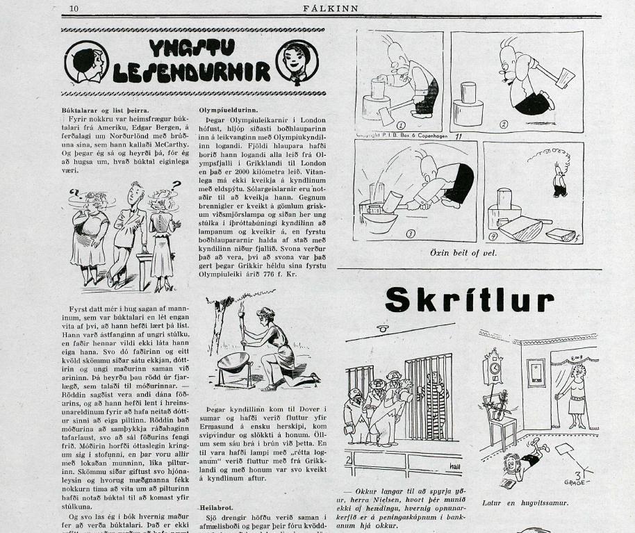 Fálkinn, júlí 1949.
