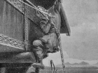 Myndskreytingar á Íslendingasögunum eftir Andreas Bloch