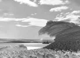 Suðurskautslandið árið 1912.