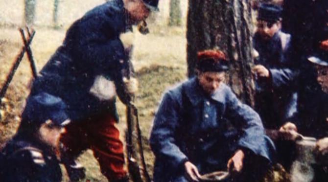 Skrúðklæddir við Marne:  Litmyndir af frönskum hermönnum á vígstöðvunum 1914