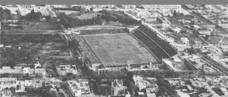 Estadio Parque Central.