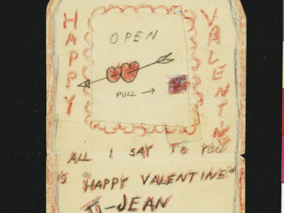 Valentínusarkort Kerouac til móður sinnar