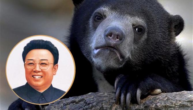 Öll dýrin í skóginum syrgja Kim Jong Il