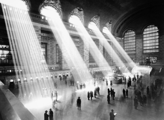 Grand Central Terminal, New York, um 1940