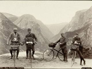 Norskir töffarar árið 1889
