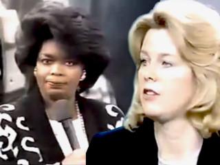 Rætt um hina stórhættulegu Beastie Boys hjá Opruh árið 1986