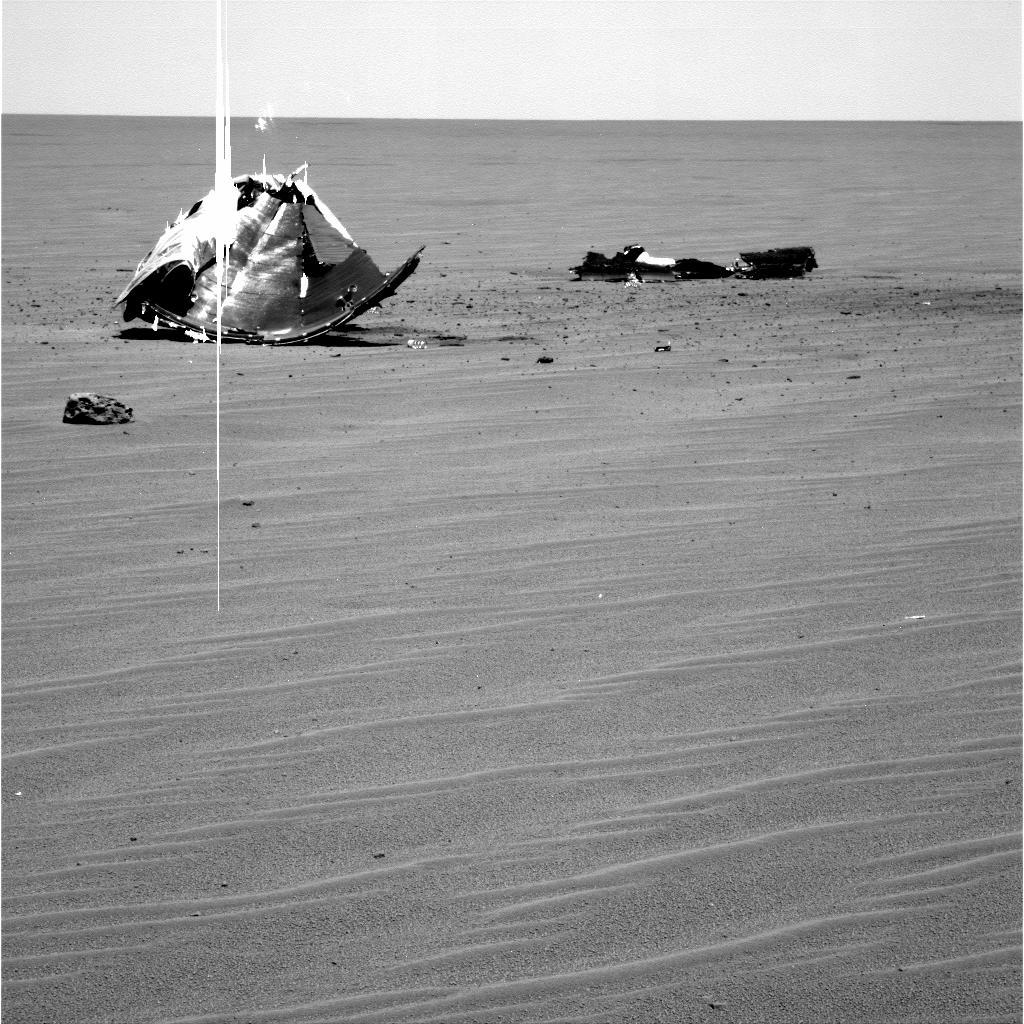Málmdrasl á Mars.