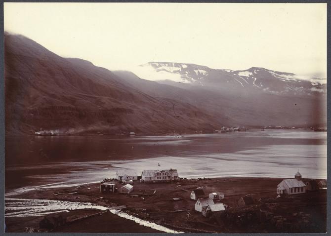 Seyðisfjörður, um 1900