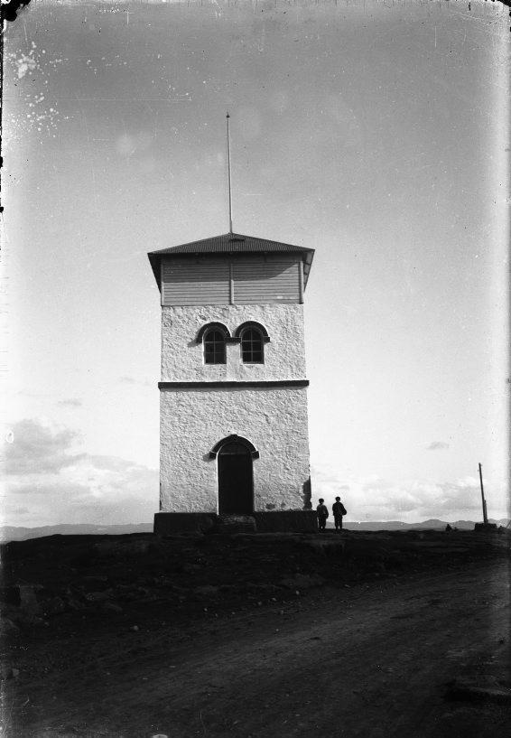 Skólavörðuholt um 1910