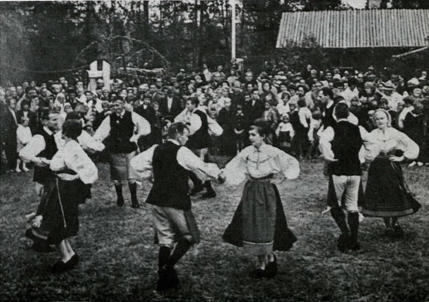 Dalbúar dansa.