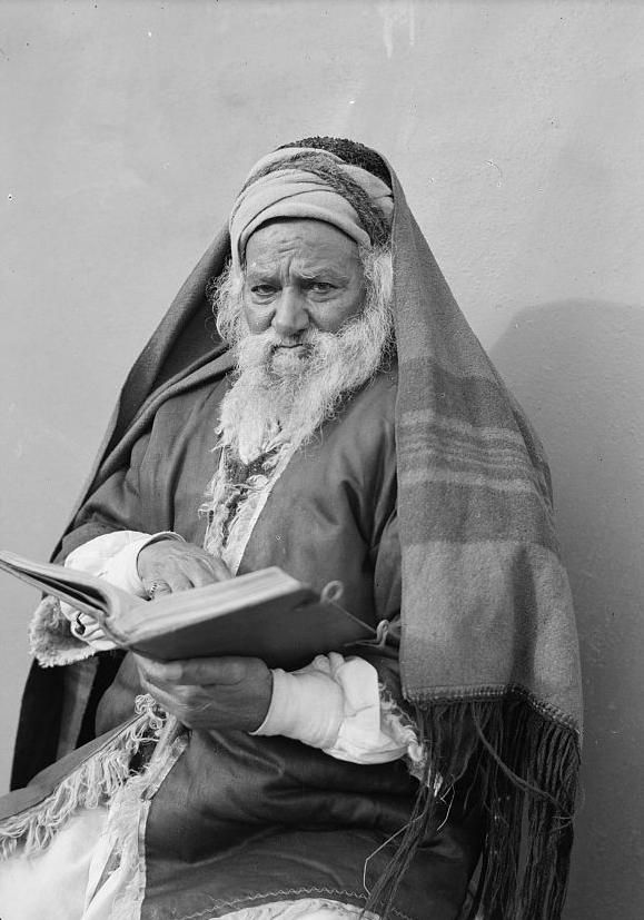 Jemenskur rabbíni í Jerúsalem