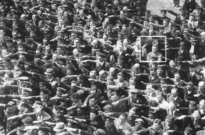 Maðurinn sem neitaði að hylla Hitler