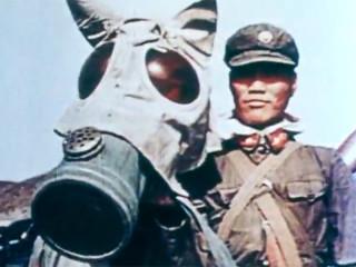 Kínversk áróðursmynd um fyrstu kjarnorkuvopnatilraunir Kína árið 1964