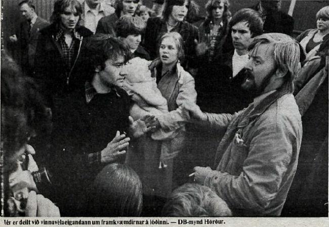 Deilan um skrúðgarðinn í Grjótaþorpi 1978: Mótmæli, skurðgrafa og ungbarn