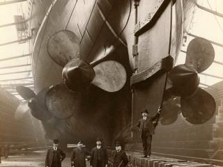 RMS Mauretania árið 1909