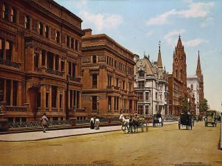 New York í lit um aldamótin 1900