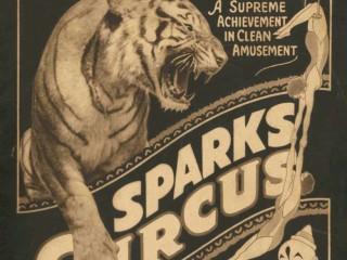 Sparks-sirkusinn og fíllinn í járnbrautarkrananum