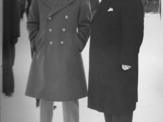 Eisenhower og Bjarni Benediktsson, 1951