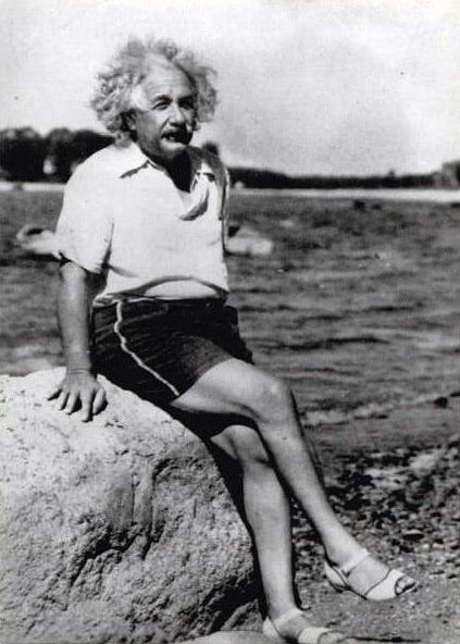 Einstein í bongóblíðu, taka tvö