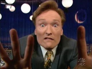 Þegar Conan O'Brien heimsótti Þýskaland og komst að því að þætti hans hafði verið stolið