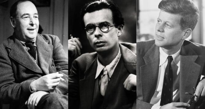 Kennedy, Huxley og C.S. Lewis milli himins og helju