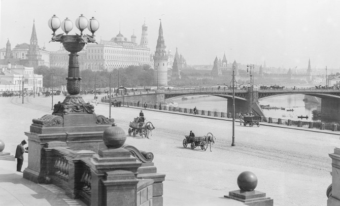 Moskva nokkrum árum fyrir byltingu