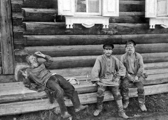 Magnaðar ljósmyndir: Rússar berjast við áfengisdjöfulinn um 1900