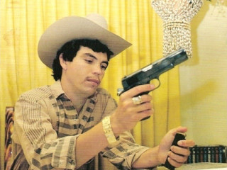 Bófarnir í Mexíkó og gangster-harmonikkutónlist