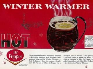 Hitað Dr. Pepper var eitt sinn hátíðardrykkur