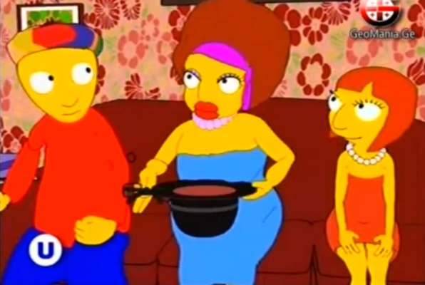 The Samsonadzes: Simpson-fjölskylda Georgíu