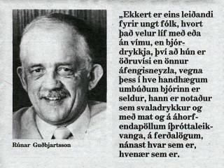 """""""Bjórbannið hefur virkað"""""""