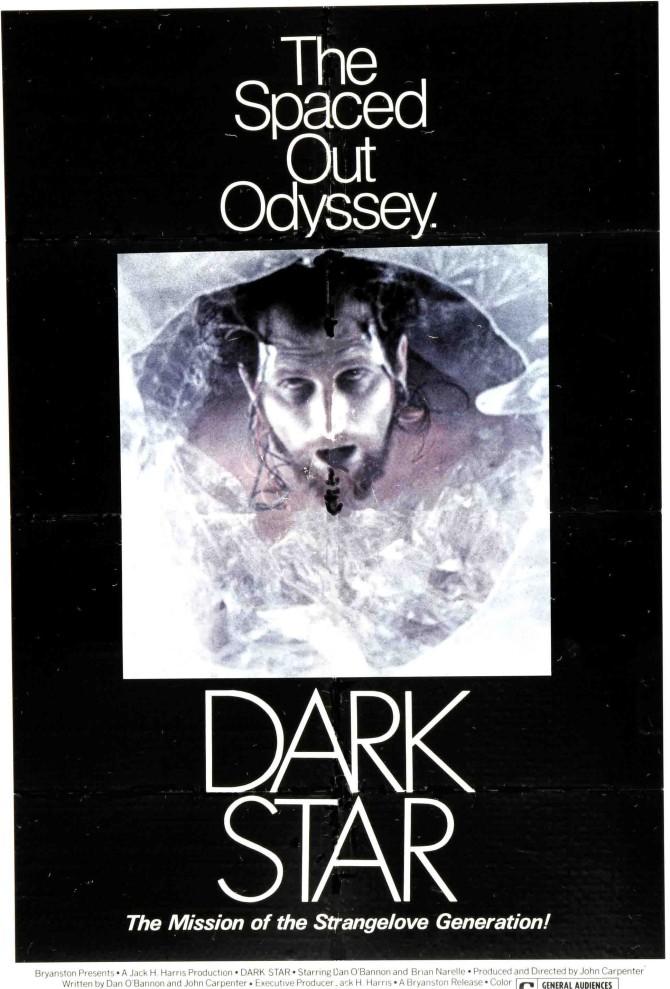 Dark Star frá 1974: Talað við strandbolta og dauðan mann í geimnum