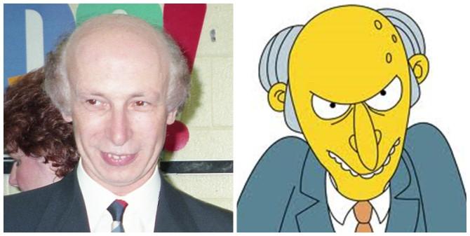 Mr. Burns og frönskukennarinn