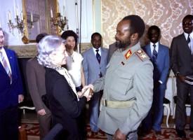Samora Machel og frú Hönecker