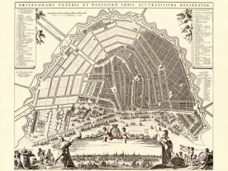 Myndband sýnir stækkun Amsterdam á 17. öld