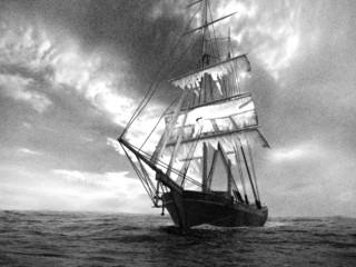 Leðurblakan, 5. þáttur: Draugaskipið Mary Celeste