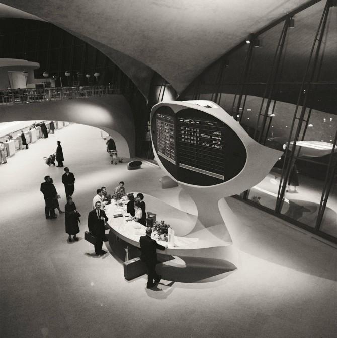 Alþjóðaflugvöllurinn í New York 1956