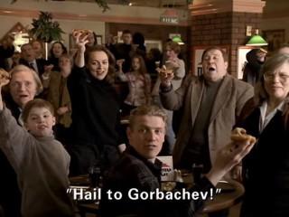 Þegar Mikhaíl Gorbatsjev lék í Pizza Hut-auglýsingu