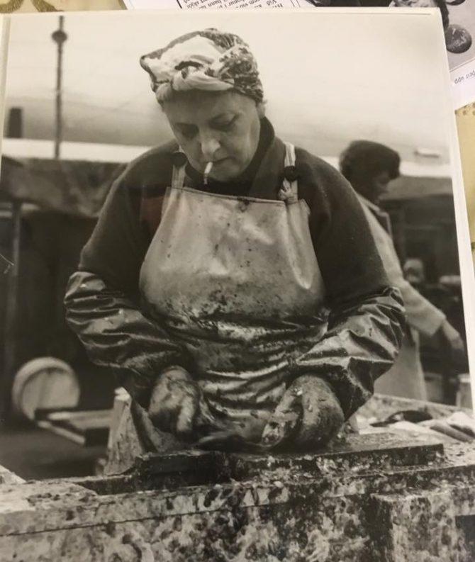 Síldarkona á Siglufirði