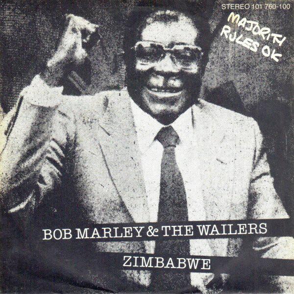 Þegar Robert Mugabe birtist á plötuumslagi Bob Marley