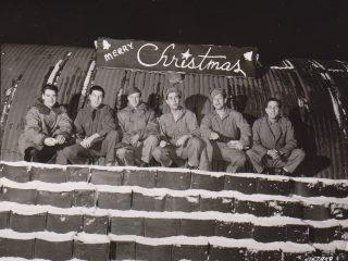 Jól hjá bandarískum hermönnum á Íslandi, 1942